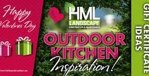 OUTDOOR KITCHEN INSPIRATION - HML LANDSCAPE CONSTRUCTION & MAINTENANCE / HML Landscape Construction & Maintenance creates stunning outdoor spaces for entertaining and spending time with the ones you love. Check out this gallery of Outdoor Kitchen Inspiration!