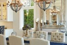 Bright Lights / Light fixtures, Chandeliers, Farm house lights, and all kinds of lights to brighten your room and your decor