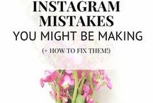 Instagram Success / Instagram tips and tricks to grow your followers and your brand.