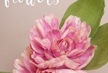 paper flowers / Paper Flowers can be just as pretty as the real thing....just take a look!!