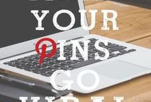 Pinterest Tips / How to succeed on Pinterest and how to use it to grow your blog/on-line business.