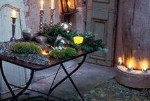 Udendørs dekoration - Outdoor decoration / by ★☆★ Marianne ☆★☆