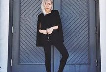 Cause I'm Back in Black / Sometimes black is all you need to be chic.