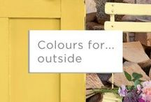Colours for... Outside / The outside of your home is the perfect canvas for colour. So why not get creative and give the neighbours something to talk about?