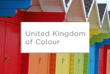 United Kingdom of Colour / Valspar is relatively new to UK shores. This board celebrates our favourite colour discoveries across the country.