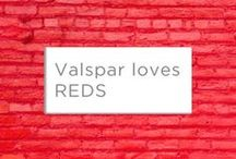 Valspar loves... RED / To celebrate Wear Red Day here is a collection of our favourite scarlet shades.