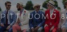 Men's Fashion and Nice Panama Hats. / Trendy Men's Fashion and Panama Hats.
