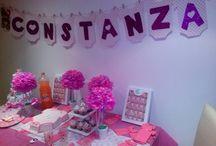 My baby shower / Baby shower Constanza