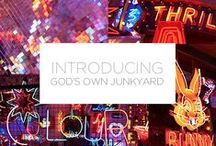 God's Own Junkyard / Introducing our amazing colour Ambassadors at neon heaven - God's Own Junkyard!