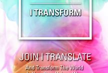 """Translation Inspires / """"The limits of my language mean the limits of my world."""""""