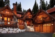 Log Homes - Inside and Out