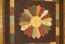 Dresdens, Drunkards, Fans, & Curves / quilts and blocks with classic curves / by Kat Scribner