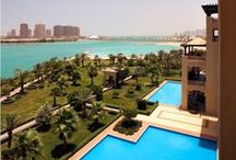 Beach & Pool / Enjoy Grand Hyatt Doha's 400m private beach along with indoor & outdoor swimming pools for the perfect relaxation.