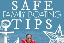 Boating Safety / Tips and Information to keep you SAFE while out on the water! #Boating #Safety