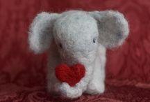 Elephants / Elephants in art, adverts, rights, decor, etc. / by Katie Link