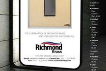 RICHMOND BRASS / Decorative Brass Switch Plates www.richmondbrass.com