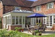Conservatories / A range of our bespoke conservatories. We design conservatories to be aesthetically beautiful AND also to be a genuine extension of your liveable home space and therefore your lifestyle in general.