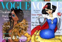 Disney / Comics, illustrations, all about Disney