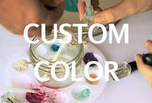 Create your signature nail polish color / Custom indie nail polish colors