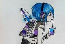 My draws  O(≧∇≦)O
