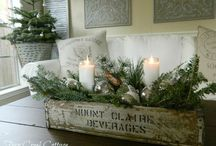 Christmas Decor / Festive ideas for decorating your home, cabin or cottage for the holidays.