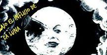 Bajo el influjo de la luna / El 20 de julio de 1969 el hombre pisó la Luna. En este tablero reunimos las obras sobre nuestro satélite o influidas por él que puedes encontrar en nuestra Biblioteca.