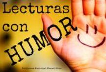 Lecturas con humor / Para empezar el otoño con nuestra mejor sonrisa, disfruta de las #lecturas que te proponemos.  #Leer o no #reír, he aquí el dilema.