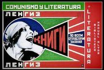 Comunismo y literatura / Revolución Rusa, comunismo, totalitarismo, Guerra Fría, represión, espionaje en una selección de novelas y peliculas disponibles en la biblioteca municipal Manuel Alvar (Zaragoza).