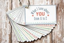 Valentine's Day / Creative ideas for Valentine cards, gifts and decor