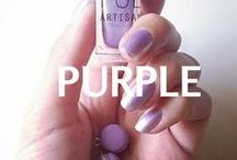 PURPLE Mixify Polish Create your own nail polish color / Get creative with your purples! Inspiration for purple nail polish creations