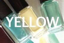 YELLOW Mixify Polish Create your own nail polish color / Get creative with your yellows! Inspiration for yellow nail polish creations