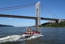 Jet Skiing / Jet Skiing on the Hudson!