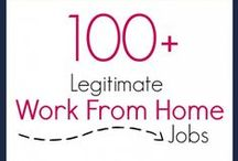 Work From Home / Several posts published online about working from home.