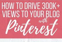 Pinterest Tips / Find success on Pinterest and attract traffic to your blog with these Pinterest tips.