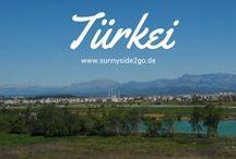 Türkei l Reisetipps / Hier findest du Tipps für deine Reise in die Türkei: Ausflüge, Städtereisen, Aktivitäten, Sehenswürdigkeiten etc.
