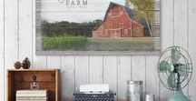 Farm Canvas Prints / Canvas prints perfect for your farmhouse decor. Each print is made to order and can be personalized with your own photo and wording.
