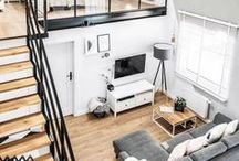 Lofts / I have a slight obsession with loft apartments!