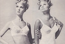 60s Lingerie / 60s underwear, 60s lingerie models, pinup and vintage lingerie / by 1960s Fashion Style