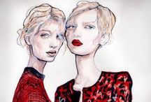 Fashion Sketches Woman / by Lella Rajchin