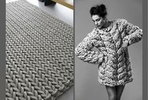 FASHION & CARPETS / Rugs are warm, comfortable, sustainable, beautiful and hip! No wonder fashion designers are inspired by them! Implemented in coats, bags, jumpers, or simply on the catwalk itself: carpets are in fashion!