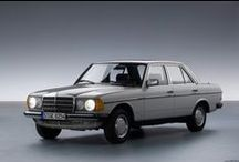 Mercedes Benz W123 / by Alberto Nuñez