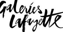 GALERIES LAFAYETTE / PINNED/UPLOADED/TEXT BY TON VAN DER VEER