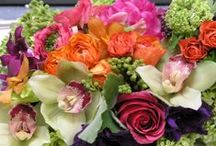 Los Angeles Floral designs for events, weddings and everyday by our design staff / A selection of Flower arrangements by our designers at Edelweiss Flower Boutique, Santa Monica, CA