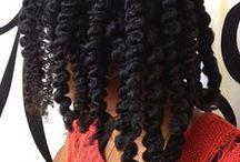 { natural hair }