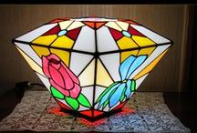 Daddy's lamps / Tiffany Lamps