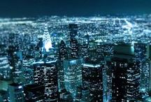 city lights; / cities. theyre cool. what they represent. how they make me feel.
