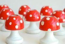 ✢ Gnomes & mushrooms ✢