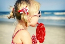 Beach Babies by FantaSea / Sun kissed nose and sandy little toes. / by FantaSea Coastal Home
