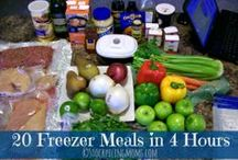 Recipes: Quick/Easy/Freezer Meals / Soccer + six days a week + late nights = dinner better be ready quick! / by Di Huey