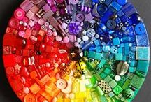 "Life is colorful! / ""Les parfums, les couleurs et les sons, se repondent"""